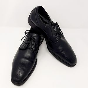Deer Stags Black Dress Shoes Size 10